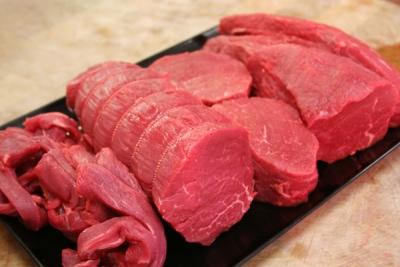 Mỡ bò cắt miếng