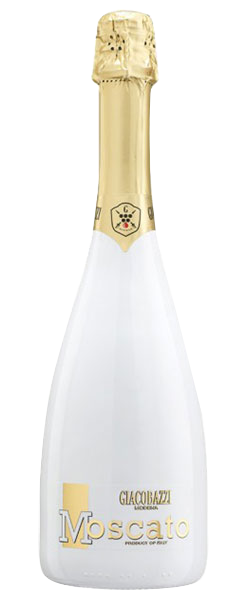 Moscato Bianco Sparkling Sweet White In White Flute