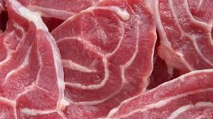 Thịt ba chỉ  có lớp gân ngoài